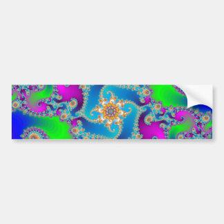 Complex Fractal Pattern Bumper Stickers