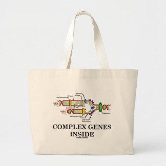 Complex Genes Inside (DNA Replication) Jumbo Tote Bag