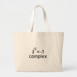 complex jumbo tote bag