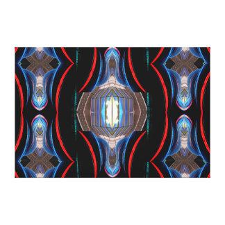Complex Modern Art Decor Op Art 2 Canvas Print