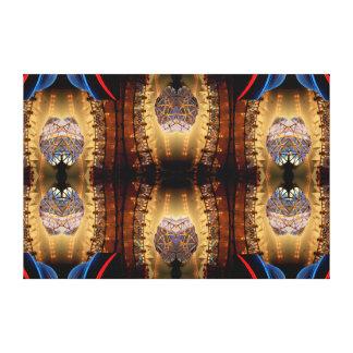Complex Modern Art Decor Op Art 3 Canvas Print