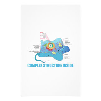 Complex Structure Inside (Eukaryotic Cell) Personalized Stationery