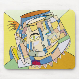 """Complex Thoughts"" by Ruchell Alexander Mouse Mat"