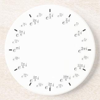 complex unit circle drink coasters