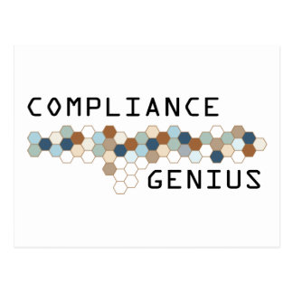 Compliance Genius Postcard
