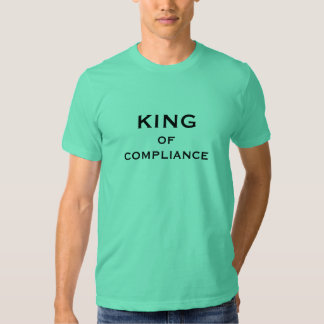 Compliance Officer Funny Nickname - King Male Tee Shirts