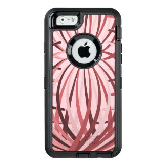 Complicated Frill Pink OtterBox Defender iPhone Case