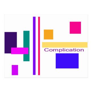 Complication Postcard