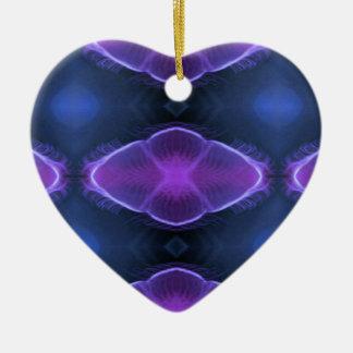 Complimentary Jellyfish Artistic  Designs Ceramic Heart Decoration