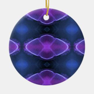 Complimentary Jellyfish Artistic  Designs Round Ceramic Decoration