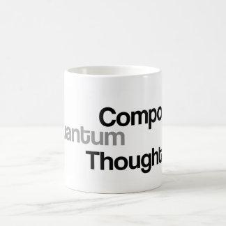 Compose Quantum Thought Basic White Mug
