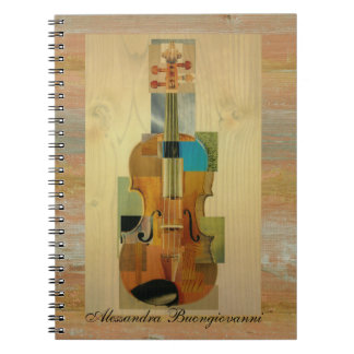 Composed Violin Notebooks