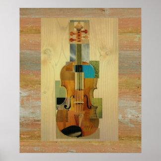 Composed Violin Poster