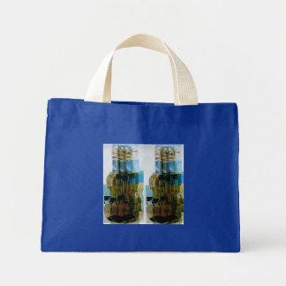 Composed Violins Mini Tote Bag
