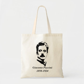 Composer - Puccini Budget Tote Bag