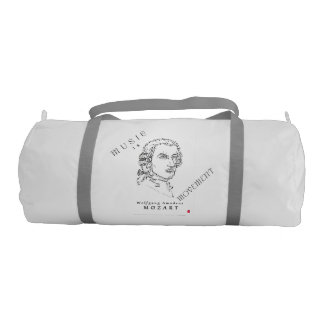 Composers Face the Music Gym Duffel Bag