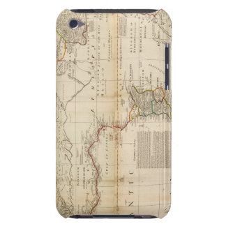 Composite Africa hand colored map iPod Touch Case-Mate Case