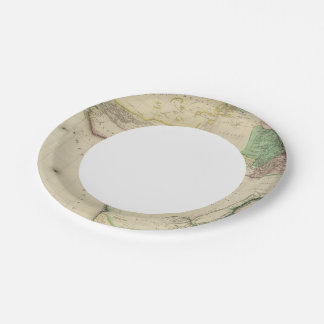Composite Africa Paper Plate