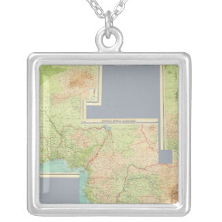 Composite Africa Silver Plated Necklace