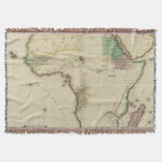 Composite Africa Throw Blanket