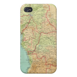 Composite Africa with shipping routes iPhone 4 Cases