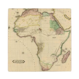 Composite Africa Wood Coaster