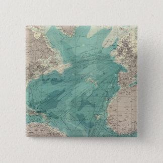 Composite Atlantic Ocean 15 Cm Square Badge