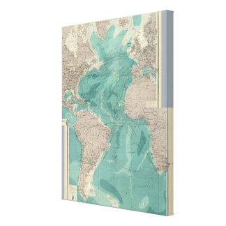 Composite Atlantic Ocean Canvas Print