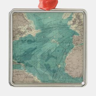 Composite Atlantic Ocean Christmas Ornament
