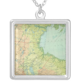 Composite Canada Silver Plated Necklace