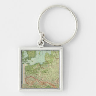 Composite Central Europe Key Ring