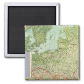 Composite Central Europe Magnet