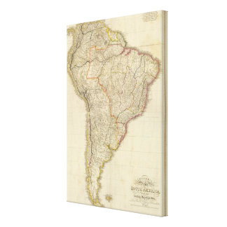 Composite Colombia Prima, S America Canvas Print