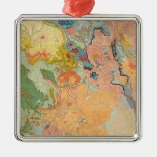 Composite Colorado Christmas Ornament