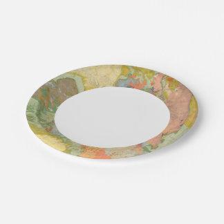 Composite Colorado Paper Plate