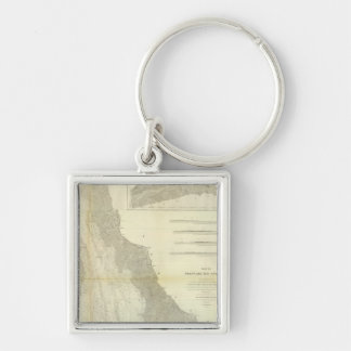 Composite Delaware Bay, River Key Ring