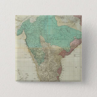 Composite East Indies with roads 15 Cm Square Badge