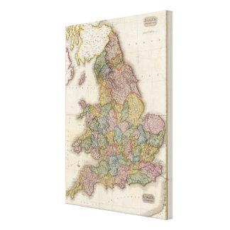 Composite England Canvas Print