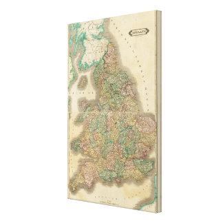 Composite England, Canvas Print