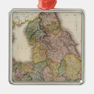 Composite England Christmas Ornament