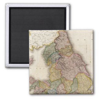 Composite England Square Magnet