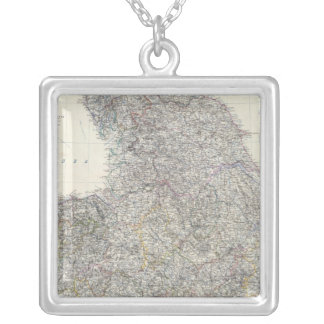 Composite England, Wales Silver Plated Necklace