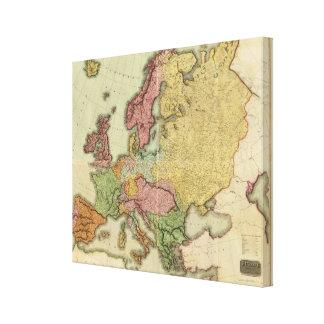 Composite Europe Canvas Print