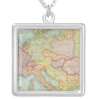 Composite Europe communications Silver Plated Necklace