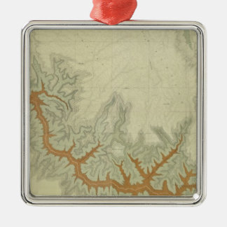 Composite Geologic map of Kaibab Plateau Christmas Ornament