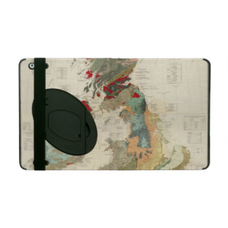 Composite Geological, palaeontological map Cases For iPad