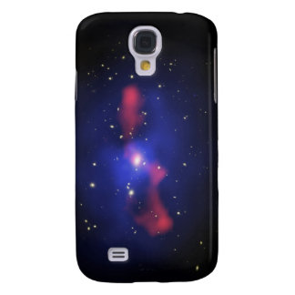 Composite image of a galaxy cluster galaxy s4 case