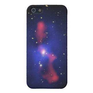 Composite image of a galaxy cluster iPhone 5/5S cases