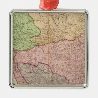 Composite India peninsula Christmas Ornament