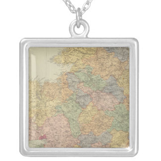 Composite Ireland 2 Silver Plated Necklace